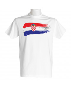 Hrvaška moška majica zastava