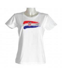 Hrvatska ženska majica zastava