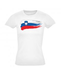Slovenija ženska majica zastava