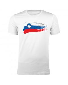 Slovenija moška majica zastava
