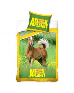 Animal Planet Bettwäsche Pferde 140x200