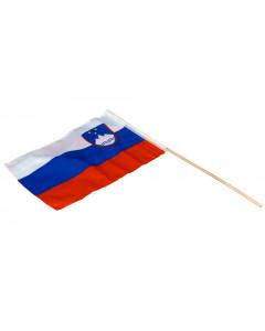 Slovenija zastavica na palici
