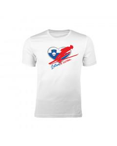 Slovenija otroška majica Letim s srcem