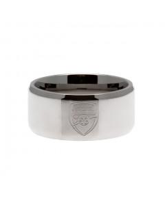Arsenal prstan iz plemenitega jekla