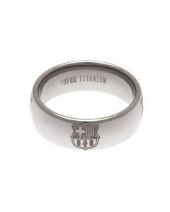 FC Barcelona Ring aus Titan
