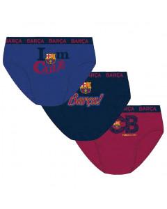 FC Barcelona 3x dečje gaćice
