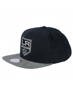 Los Angeles Kings Mitchell & Ness Sandy Off White Snapback Mütze