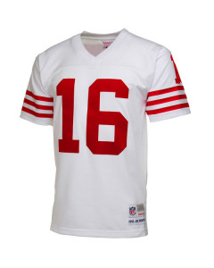 Joe Montana #16 San Francisco 49ers 1990 Mitchell & Ness replika dres