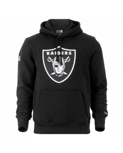 New Era Team Logo Kapuzenjacke Oakland Raiders