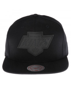 Los Angeles Kings Mitchell & Ness Hot Stamp Snapback Mütze