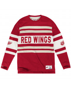 Detroit Red Wings Mitchell & Ness Open Net T-Shirt langarm (119T DETRED)