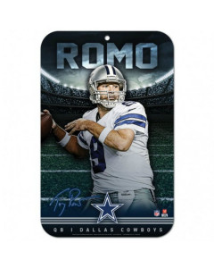 Dallas Cowboys tabla Tony Romo