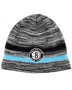 Brooklyn Nets Mitchell & Ness Static Team Wintermütze (KW14Z)
