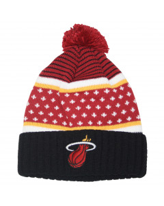 Miami Heat Mitchell & Ness The Highlands Wintermütze (KW02Z)
