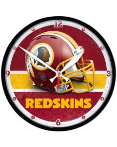 Washington Redskins Wanduhr