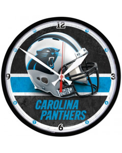 Carolina Panthers zidni sat