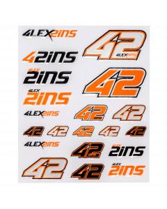 Alex Rins AR42 nalepke