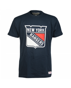 Mitchell & Ness Team Logo T-Shirt New York Rangers