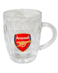 Arsenal staklena krigla