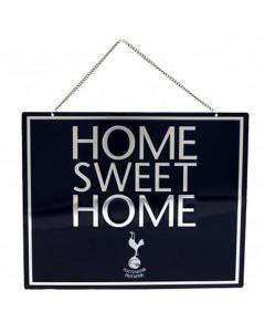 Tottenham Hotspur Home Sweet Home Schild