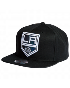 Los Angeles Kings Mitchell & Ness Dark Hologram Mütze