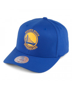 Golden State Warriors Mitchell & Ness Team Logo High Crown Flexfit 110 Mütze