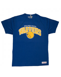 Golden State Warriors Mitchell & Ness Team Arch T-Shirt