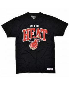 Miami Heat Mitchell & Ness Team Arch T-Shirt