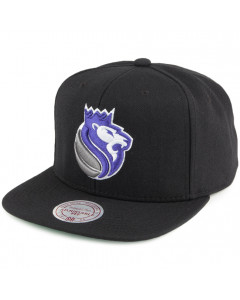 Sacramento Kings Mitchell & Ness Wool Solid/Solid 2 Mütze