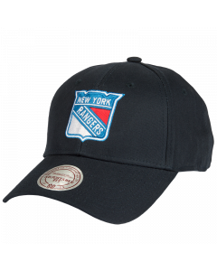 New York Rangers Mitchell & Ness Low Pro Mütze