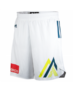 Slovenija Adidas KZS kratke hlače bele XXXL