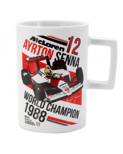 Ayrton Senna McLaren World Champion 1988 šolja