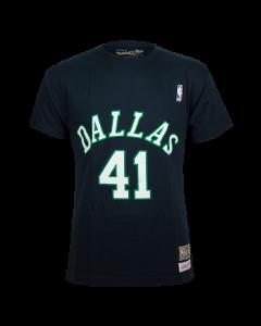 Dirk Nowitzki 41 Dallas Mavericks Mitchell & Ness majica