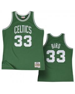 Larry Bird 33 Boston Celtics 1985-86 Mitchell & Ness Swingman dres