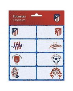 Atlético de Madrid Aufkleber Heftetiketten