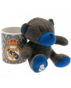 Real Madrid Set Tasse und Teddy