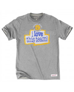 Golden State Warriors Mitchell & Ness I love this team T-Shirt
