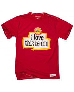 Houston Rockets Mitchell & Ness I love this team majica
