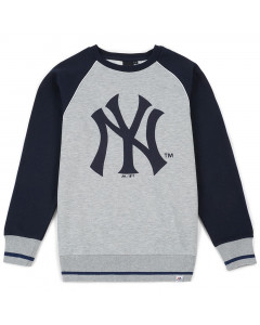 New York Yankees Majestic Athletic Raglan Crew duks (MNY3778E2)