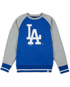 Los Angeles Dodgers Majestic Athletic Raglan Crew duks (MLD3778BC)