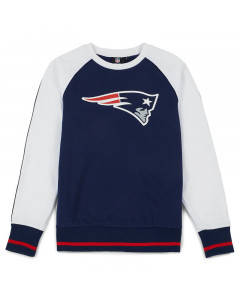 New England Patriots Raglan Crew Pullover