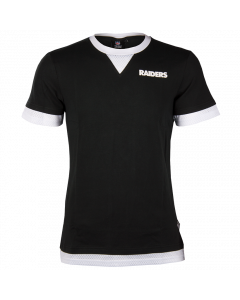 Iconic Poly Mesh Supporters Jersey Trikot Oakland Raiders