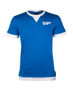 Los Angeles Dodgers Majestic Athletic Mock Layer T-Shirt (MLD3788BC)