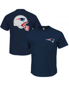 New England Patriots NFL Helmet Logo T-Shirt