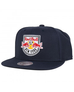 New York Red Bulls Mitchell & Ness Wool Solid kapa