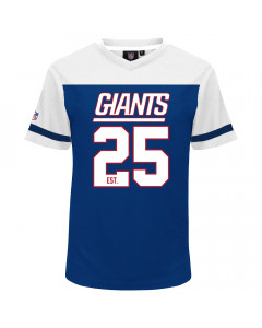 New York Giants Mesh V-Neck T-Shirt