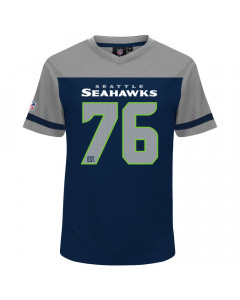 Seattle Seahawks Mesh V-Neck T-Shirt