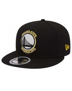 Golden State Warriors New Era 9FIFTY Glow In The Dark Black kačket (80536349)