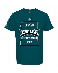 Philadelphia Eagles Majestic Athletic Super Bowl LII Champions majica (MPE6191GK)