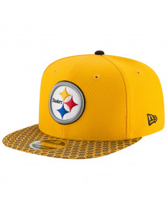 Pittsburgh Steelers New Era 9FIFTY Sideline OF kačket (11466468)